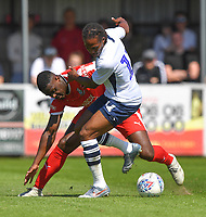 Preston North End's Daniel Johnson in action during todays match  <br /> <br /> Photographer Dave Howarth/CameraSport<br /> <br /> Football Pre-Season Friendly - Bamber Bridge v Preston North End - Saturday 6th July 2019 - Sir Tom Finney Stadium - Bamber Bridge<br /> <br /> World Copyright © 2019 CameraSport. All rights reserved. 43 Linden Ave. Countesthorpe. Leicester. England. LE8 5PG - Tel: +44 (0) 116 277 4147 - admin@camerasport.com - www.camerasport.com