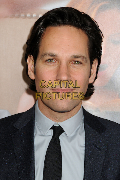 "Paul Rudd.""This Is 40"" Los Angeles Premiere held at Grauman's Chinese Theatre, Hollywood, California, USA..December 12th, 2012.headshot portrait blue suit  black shirt tie  .CAP/ADM/BP.©Byron Purvis/AdMedia/Capital Pictures."