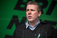 Mark Serwotka (General Secretary of PCS, Public and Commercial Services Union).<br />