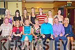 GOLDEN ANNIVERSARY: Michael and Mary Locke, St Joseph estate, Spa Road enjoying a great time celebrating their Golden Anniversary with family and fiends at the Meadowlands hotel, Tralee on Saturday seated l-r: Brendan Guerin, Michelle Guerin, Margaret Hussey, Mary, Michael, David and Geraldine Locke. Back l-r: Kelly Locke, Aishling and Niamh Guerin, Carrie Locke, Keith Hussey, Shannon Locke and Linda Hussey...