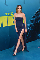 "LOS ANGELES, CA - August 06, 2018: Jessica McNamee at the US premiere of ""The Meg"" at the TCL Chinese Theatre"