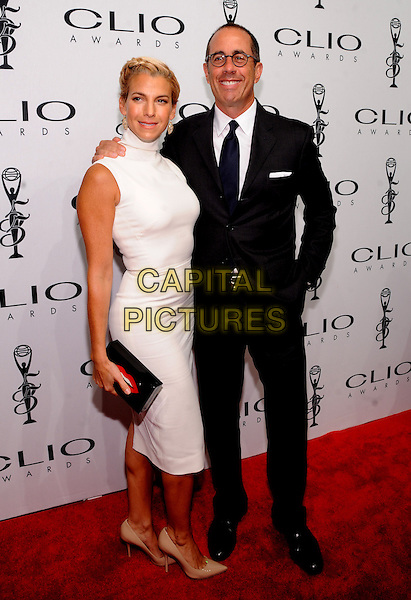 New York, NY- October 1: Jessica Seinfeld and Jerry Seinfeld attends the 2014 CLIO Awards on October 1, 2014 at Cipriani Wall Street in New York City.   <br /> CAP/RTNSTV<br /> &copy;RTNSTV/MPI/Capital Pictures