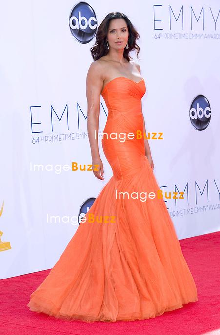 PADMA PARVATI - 64th Prime Time Emmy Awards, Fashion, Awards, Nokia Theatre Live, Los Angeles, September 23, 2012.