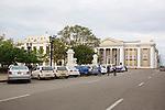 Catedral de la Purisima Concepcion, Plaza De Armas