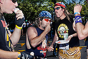 Team Sports Whack finishes their dessert round during the sixth annual Doughman race, Durham, N.C., Sat., May 25, 2013.