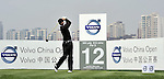 SUZHOU, CHINA - APRIL 16:  Nicolas Colsaerts of Belgium tees off on the 12th hole during the Round Two of the Volvo China Open on April 16, 2010 in Suzhou, China. Photo by Victor Fraile / The Power of Sport Images