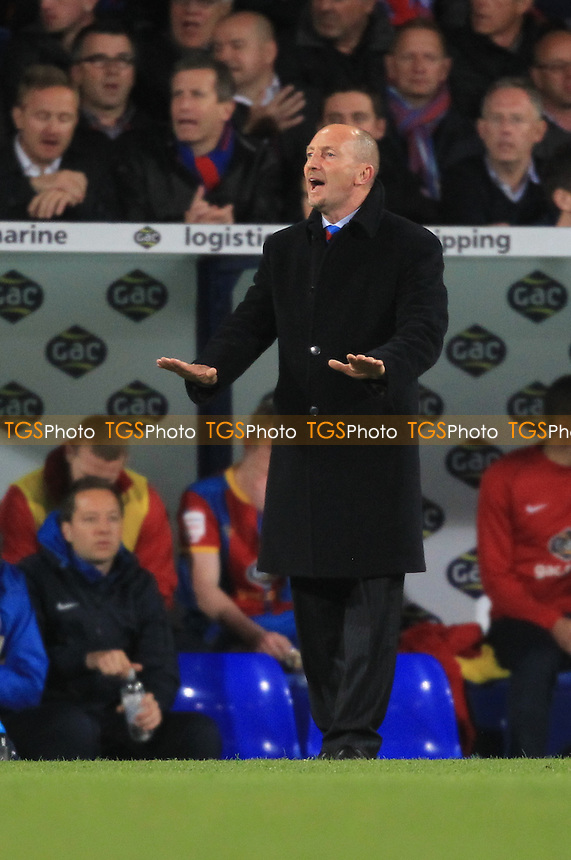 Crystal Palace Manager Ian Holloway - Crystal Palace vs Brighton & Hove Albion - NPower Championship Play-Off Semi-Final 1st Leg at Selhurst Park - 10/05/13 - MANDATORY CREDIT: Simon Roe/TGSPHOTO - Self billing applies where appropriate - 0845 094 6026 - contact@tgsphoto.co.uk - NO UNPAID USE