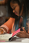 CORAL GABLES, FL - JUNE 15: Reginae Carter daughter of rapper Lil' Wayne greet fans and sign copies of their book Paparazzi Princesses at Books and Books on June 15, 2013 in Coral Gables, Florida. (Photo by Johnny Louis/jlnphotography.com)