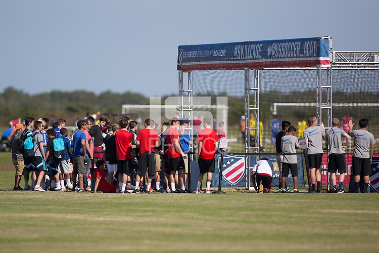 Lakewood Ranch, FL, 2014: U.S. Development Academy Winter Showcase and Nike International Friendlies at Premier Sports Campus.