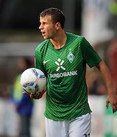 FUSSBALL   1. BUNDESLIGA   SAISON 2011/2012   TESTSPIEL SV Werder Bremen - Olympiakos Piraeus             26.07.2011 Lukas SCHMITZ (SV Werder Bremen)
