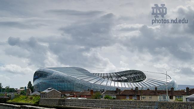 Aug. 29, 2012; Aviva Stadium, site of the 2012 Emerald Isle Classic...Photo by Matt Cashore/University of Notre Dame