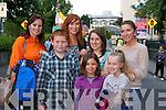 Front row, from left: Alex Lawlor, Katie Borst and Saoirse Lawlor. Back row, from left: Marie Lawlor, Charmaine Lawlor, Clodagh Lawlor and Tara Flynn.