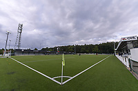 Illustration picture stadium OHL before a female soccer game between Oud Heverlee Leuven and AA Gent Ladies  on the first matchday of the 2020 - 2021 season of Belgian Women's SuperLeague , sunday 30 of August 2020  in Heverlee , Belgium . PHOTO SPORTPIX.BE | SPP | STIJN AUDOOREN