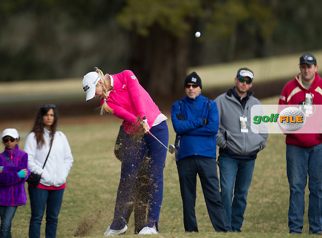 Jessica Korda during the Second Day of the Third round of the LPGA Coates Golf Championship 2016 , from the Golden Ocala Golf and Equestrian Club, Ocala, Florida. 6/2/16<br /> Picture: Mark Davison | Golffile<br /> <br /> <br /> All photos usage must carry mandatory copyright credit (&copy; Golffile | Mark Davison)
