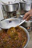 Asie/Israël/Judée/Jérusalem: restaurant Azura restaurant Kurde-Irakien dans le marché Mahane Yehuda