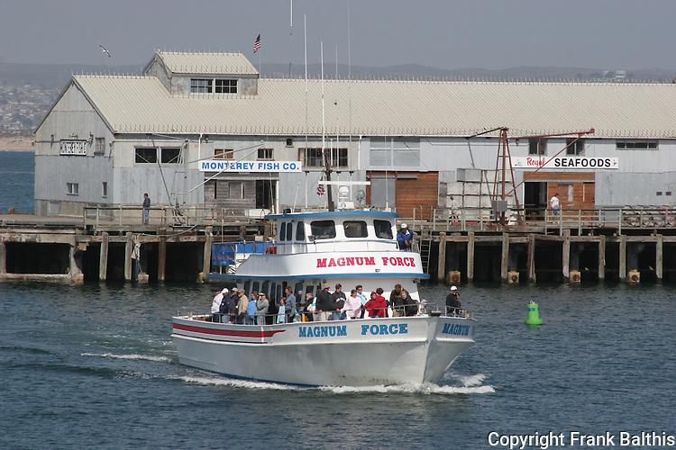 Magnum force in Monterey harbor