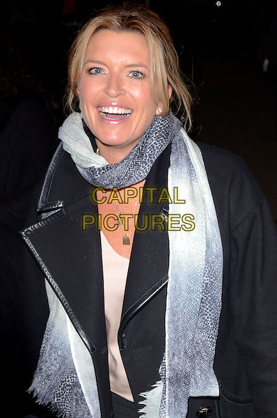 LONDON, ENGLAND - NOVEMBER 19 Tina Hobley at the 'Strangers on a Train' Press Night at the Gielgud Theatre, Shaftesbury Avenue on November 19, 2013 in London, England<br /> CAP/PP/MB<br /> &copy;Michael Ball/PP/Capital Pictures