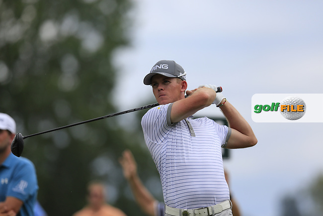 Brandon Stone (RSA) tees off the 11th tee during Friday's Round 2 of the 2017 PGA Championship held at Quail Hollow Golf Club, Charlotte, North Carolina, USA. 11th August 2017.<br /> Picture: Eoin Clarke | Golffile<br /> <br /> <br /> All photos usage must carry mandatory copyright credit (&copy; Golffile | Eoin Clarke)