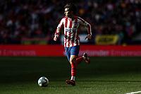 7th March 2020; Wanda Metropolitano Stadium, Madrid, Spain; La Liga Football, Atletico de Madrid versus Sevilla; Joao Felix (Atletico de Madrid) on the ball