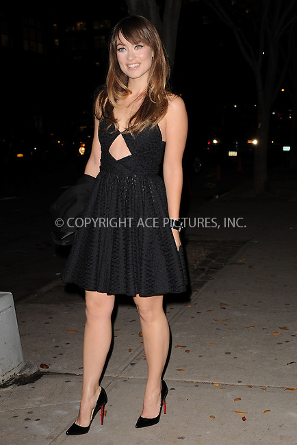 WWW.ACEPIXS.COM . . . . . .November 14, 2011...New York City....Olivia Wilde attends the 8th Annual CFDA Vogue Fashion Fund Awards at the Skylight SOHO on November 14, 2011 in New York City.....Please byline: KRISTIN CALLAHAN - ACEPIXS.COM.. . . . . . ..Ace Pictures, Inc: ..tel: (212) 243 8787 or (646) 769 0430..e-mail: info@acepixs.com..web: http://www.acepixs.com .