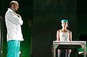 4.48 Psychosis performed by TR Warsawa . With  ,Magdalena Cielecka ,Janusz Chabior .Performing at The Edinburgh King's Theatre at The Edinburgh International Festival 2008. CREDIT Geraint Lewis