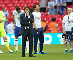 Antonio Conte manager of Chelsea dejected during the Emirates FA Cup Final match at Wembley Stadium, London. Picture date: May 27th, 2017.Picture credit should read: David Klein/Sportimage