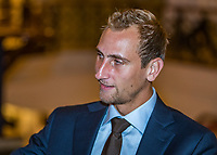 The Hague, The Netherlands, September 13, 2017,  Sportcampus , Davis Cup Netherlands - Chech Republic, Official Dinner, Thiemo de Bakker (NED)<br /> Photo: Tennisimages/Henk Koster