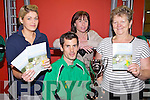 GET READY TO RUN: Planning ahead for the Easter 2011 Ballybunion Marathon are the 2010 winner, James Doran from Brosna with l-r: Aileen McKenna, Margaret O'Hanlon, Nora Dillon.