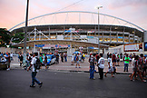 BRAZIL, Rio de Janiero, outside of Joao Havelange or Engenhao stadium, Flumanense vs Gremio