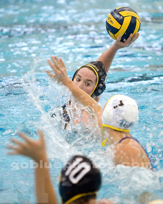 The University of Michigan women's water polo team lost to No. 3 UCLA, 10-8, at Canham Natatorium in Ann Arbor, Mich., on January 22, 2012.