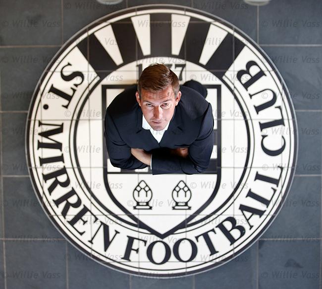 11.06.18 Alan Stubbs new St Mirren manager