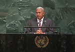 72 General Debate &ndash; 20 September <br /> <br /> by His Excellency Josaia Voreqe Bainimarama, Prime Minister of the Republic of Fiji