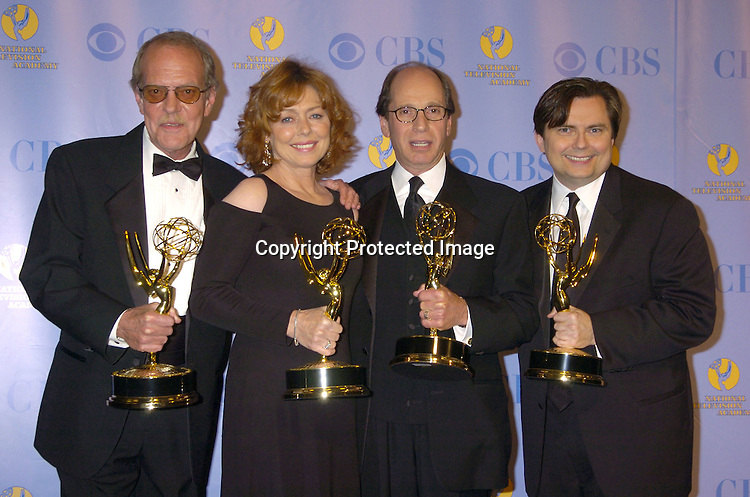 Jeopardy Winners..at The 32nd Annual Daytime Emmy Awards Press Room ..at Radio City Music Hall on May 20, 2005...Photo by Robin Platzer, Twin Images