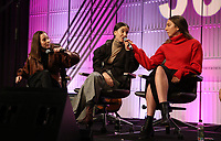 LOS ANGELES, CA - NOVEMBER 1: Danielle Haim, Este Haim, Alana Haim, Of The Music Group Haim, at TheWrap&rsquo;s  Power Women&rsquo;s Summit - Inside at the InterContinental Hotel in Los Angeles, California on November 1, 2018.   <br /> CAP/MPI/FS<br /> &copy;FS/MPI/Capital Pictures
