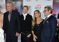 LOS ANGELES, CA. November 10, 2016: Actor director Warren Beatty, actress wife Annette Bening, actress Sarah Jessica Parker &amp; actor husband Matthew Broderick at World Premiere of &quot;Rules Don't Apply&quot;, part of the AFI Fest 2016, at the TCL Chinese Theatre, Hollywood.<br /> Picture: Paul Smith/Featureflash/SilverHub 0208 004 5359/ 07711 972644 Editors@silverhubmedia.com