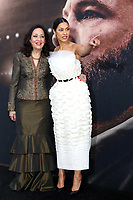 LOS ANGELES - MAR 1:  Janina Gavankar and mother at the The Way Back Premiere at the Regal LA Live on March 1, 2020 in Los Angeles, CA
