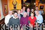 Paddy Rooney, Tralee, (front centre) who retired as Kerry regional manager of Aviva Insurance, after 42 years, enjoying a great night in Jess McCarthy's bar, Castle St, Tralee with colleagues last Friday night, present were l-r: Jim O'Connor, Ronan Kavanagh, Gerry Sayers, Paudie Commane, John Reen, Paddy Rooney, Con McCarthy, John Healy, Catherine and Eddie O'Donoghue with Denis Lyons.