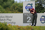 Paul Lawrie (SCO) tees off on the 2nd tee during the afternoon session on Day 2 of the Volvo World Match Play Championship in Finca Cortesin, Casares, Spain, 20th May 2011. (Photo Eoin Clarke/Golffile 2011)