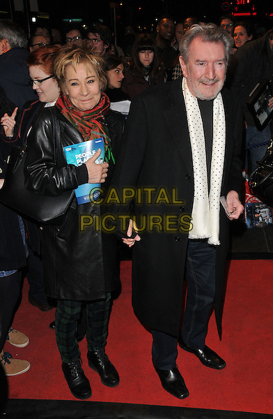 Zoe Wanamaker &amp; Gawn Grainger attend the &quot;People, Places and Things&quot; VIP opening night, Wyndham's Theatre, Charing Cross Road, London, UK, on Wednesday 23 March 2016.<br /> CAP/CAN<br /> &copy;Can Nguyen/Capital Pictures