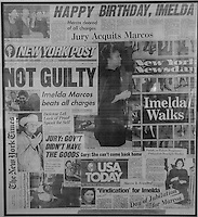 Imelda Marcos, News paper clippings