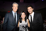 Macy's Terry Lundgren, Michelle Kwan & Evan Lysacek - 10th Annual Gala celebrating Figure Skating in Harlem's 18th year of operations at The Stars 2015 Benefit Gala on April 13, 2015 in New York City, New York honoring Olympic Champion Evan Lysacek, Gloria Steinem and Nicole, Alana and Juliette Feld with Mary Wilson as Mistress of Ceremony. (Photos by Sue Coflin/Max Photos)