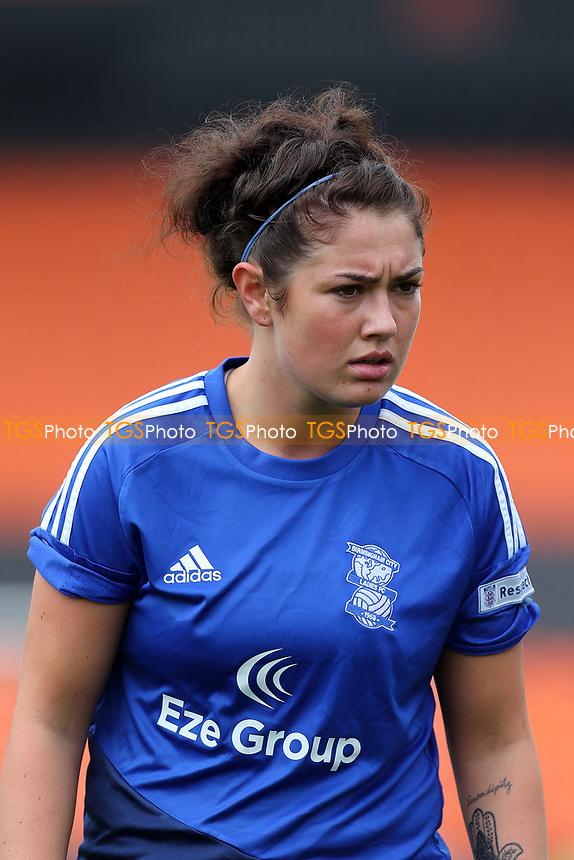 Coral Haines of Birmingham City Ladies during Arsenal Ladies vs Birmingham City Ladies, FA Women's Super League FA WSL1 Football at the Hive Stadium on 20th May 2017