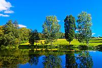 Views from the Hotel Schloss Wedendorf, Wedendorf, Mecklenburg-West Pomerania, Germany