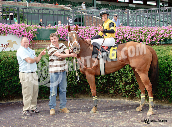Quality Lass winning at Delaware Park on 8/11/14