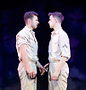 Yank!<br />  by <br /> at the Charing Cross Theatre, London<br /> 6th July 2017 <br /> press photocall <br />  <br /> A poignant original, musical and love story based on the true, hidden history of gay soldiers during World War Two. It transfers to London following a UK spring premi&egrave;re at Hope Mill Theatre in Manchester which received extensive critical acclaim.<br /> <br />  Scott Hunter as Stu <br /> Andy Coxon as Mitch <br /> <br /> <br />  <br /> <br /> Photograph by Elliott Franks <br /> Image licensed to Elliott Franks Photography Services