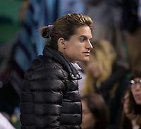 Amelie Mauresmo<br /> <br /> Tennis - Australian Open 2015 - Grand Slam -  Melbourne Park - Melbourne - Victoria - Australia  - 25 January 2015. <br /> &copy; AMN IMAGES