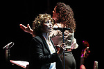 Jane Birkin and Orquesta Sinfonica de Mujeres perform on stage during Las Noches Del Botanico at Real Jardin Botanico de Alfonso XIII on July 17, 2019 in Madrid, Spain.(ALTERPHOTOS/ItahisaHernadez)