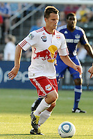 Seth Stammler...Kansas City were defeated 3-0 by New York Red Bulls at Community America Ballpark, Kansas City, Kansas.