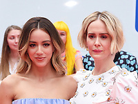 """TORONTO, ONTARIO - SEPTEMBER 07: Chloe Bennet and Sarah Paulson attend the """"Abominable"""" premiere during the 2019 Toronto International Film Festival at Roy Thomson Hall on September 07, 2019 in Toronto, Canada. <br /> CAP/MPIIS<br /> ©MPIIS/Capital Pictures"""