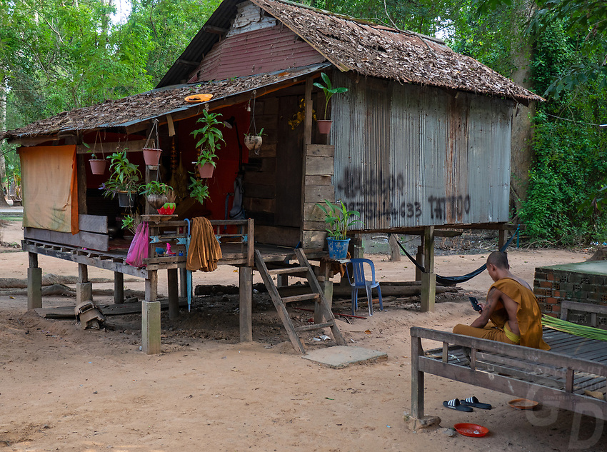 Life at a Monastery located next to Angkor Wat